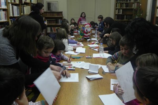 Γράμματα στον Άη Βασίλη - Δεκέμβριος 2012
